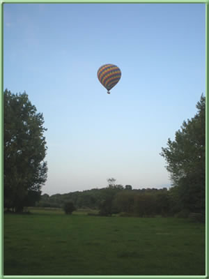 Balloon over Charlton Meadows